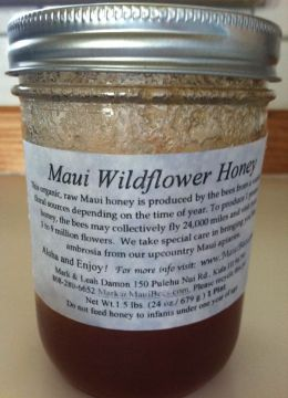 Maui Wildflower Honey