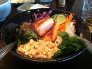 Nuka Bowl with Wild Salmon