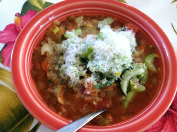 Celery Minestrone Ready to Eat