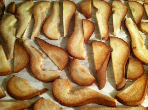 roasted pears