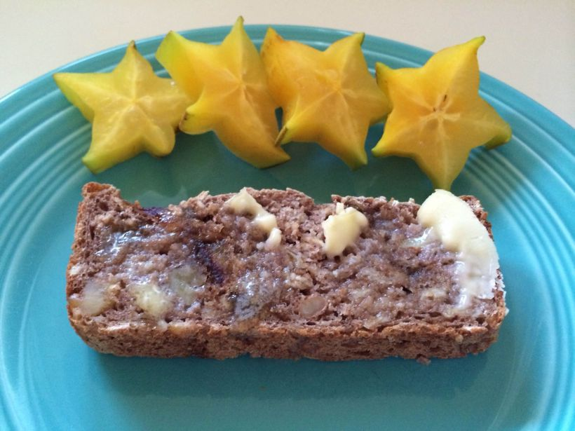 Date Walnut Cinnamon Bread
