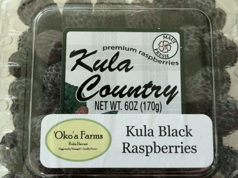 Kula Black Raspberries