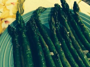 pan griddled asparagus 2