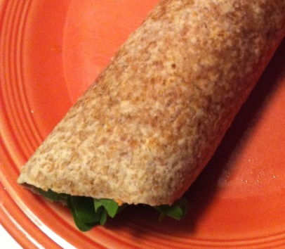 A Rolled Up Wrap
