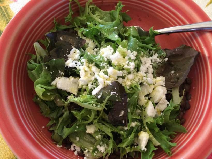 French green lentil salad 2