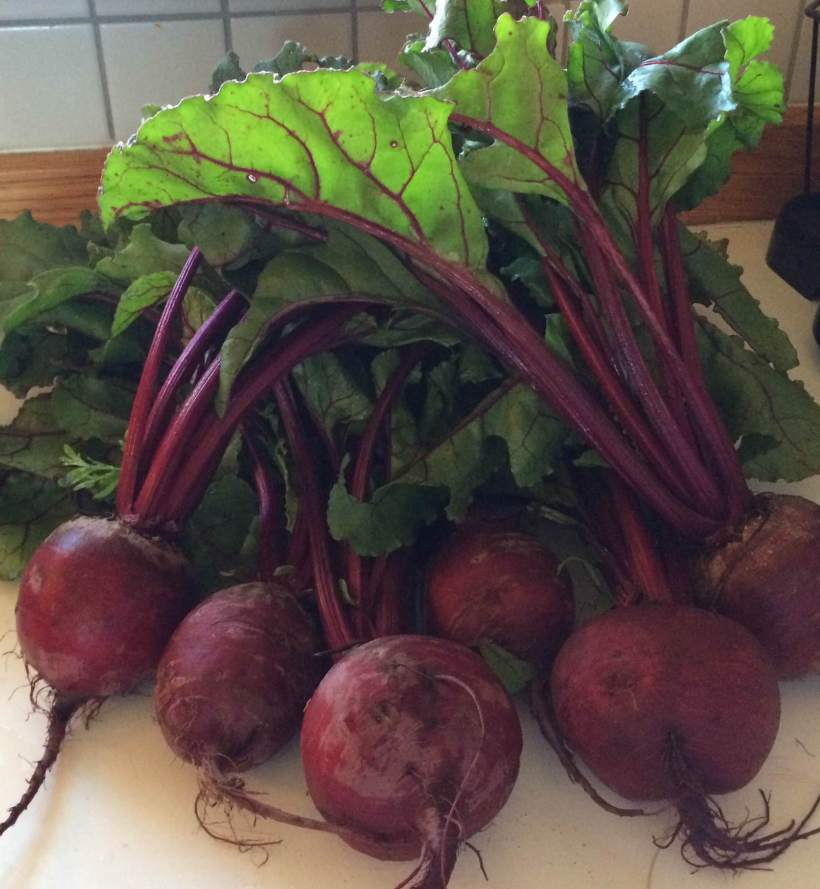 Beets with Greens