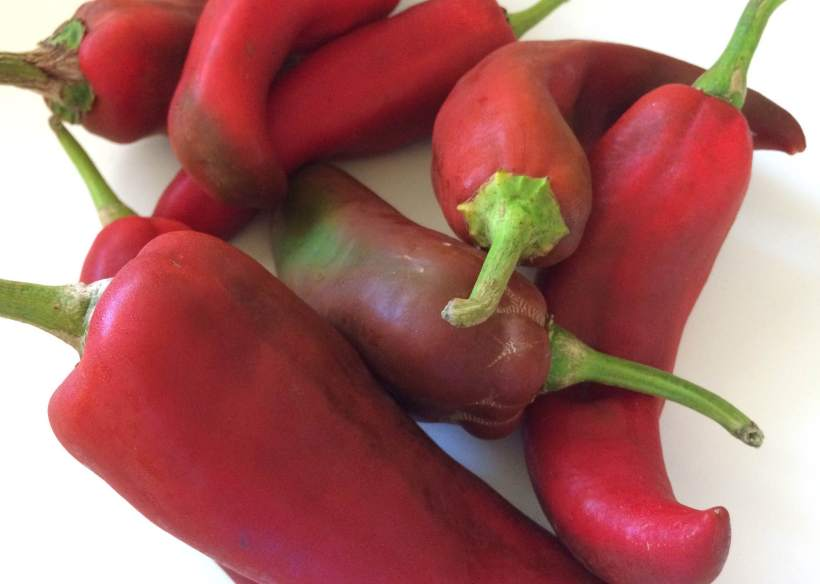 Raw Sweet Peppers