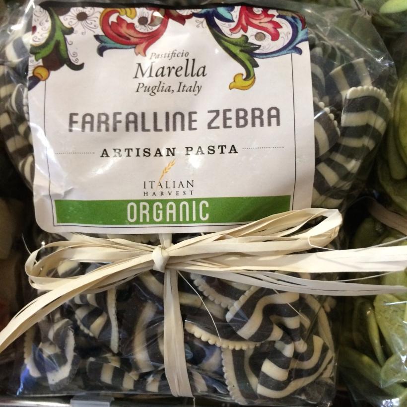 Zebra Pasta