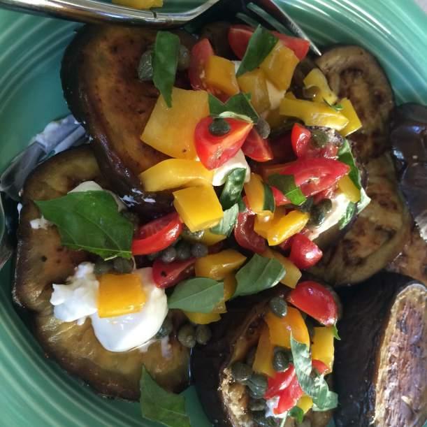 Eggplant Tricolore 1