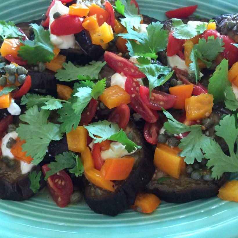 Eggplant Tricolore 2
