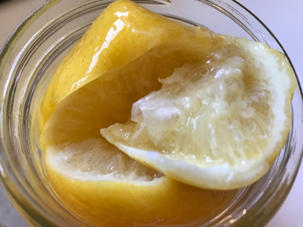 Preserved Lemons in Jar